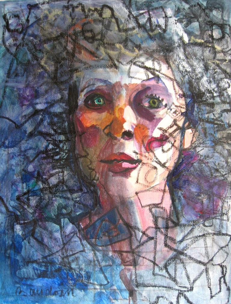 Autoportrait-Genevieve-Baudoin