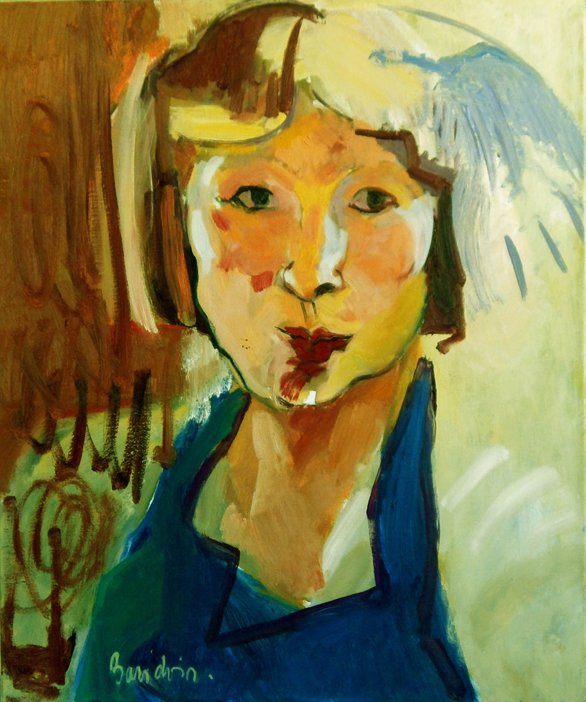 Autoportrait - Huile sur toile 54X65