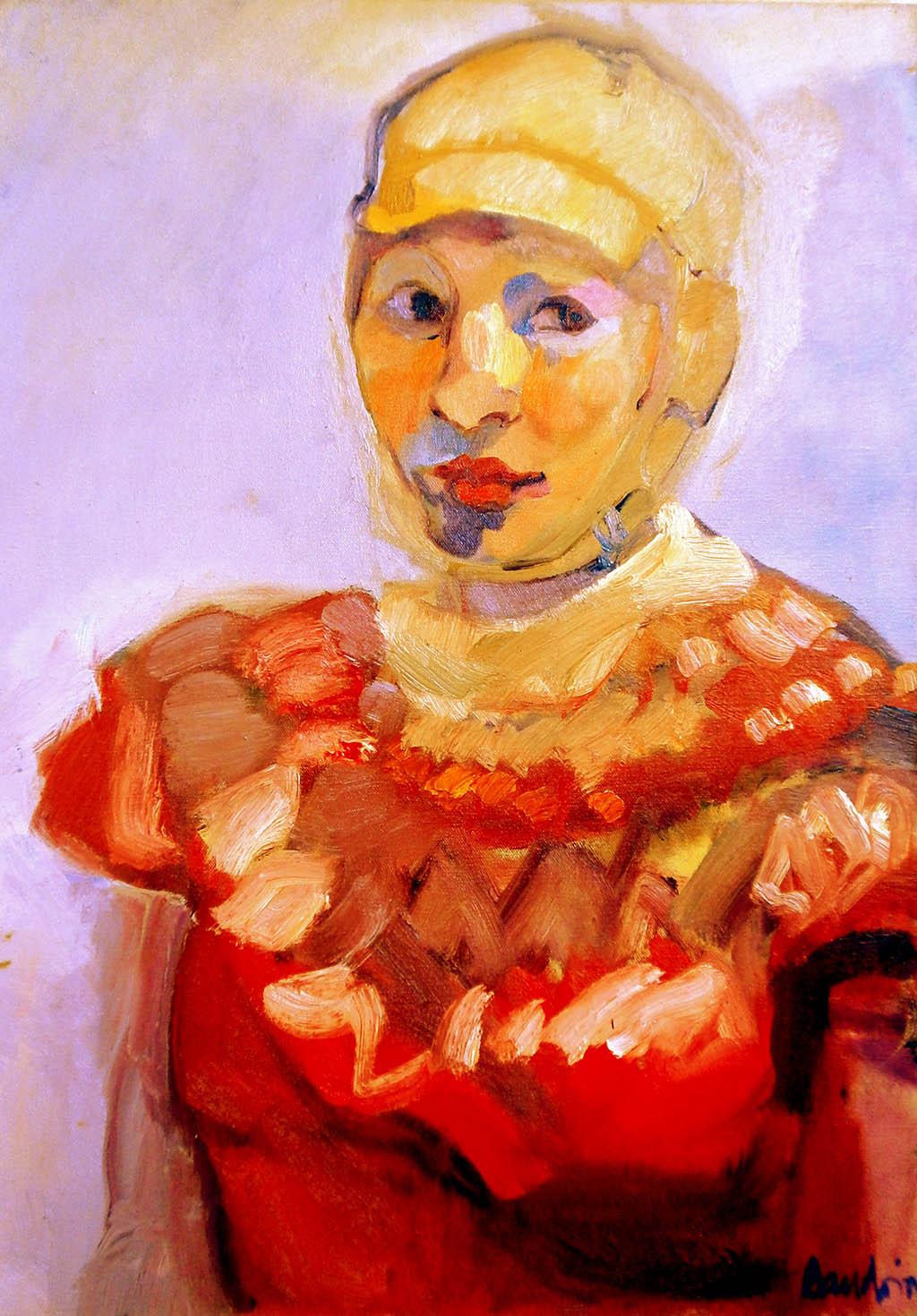Autoportrait - Huile sur toile 46X65