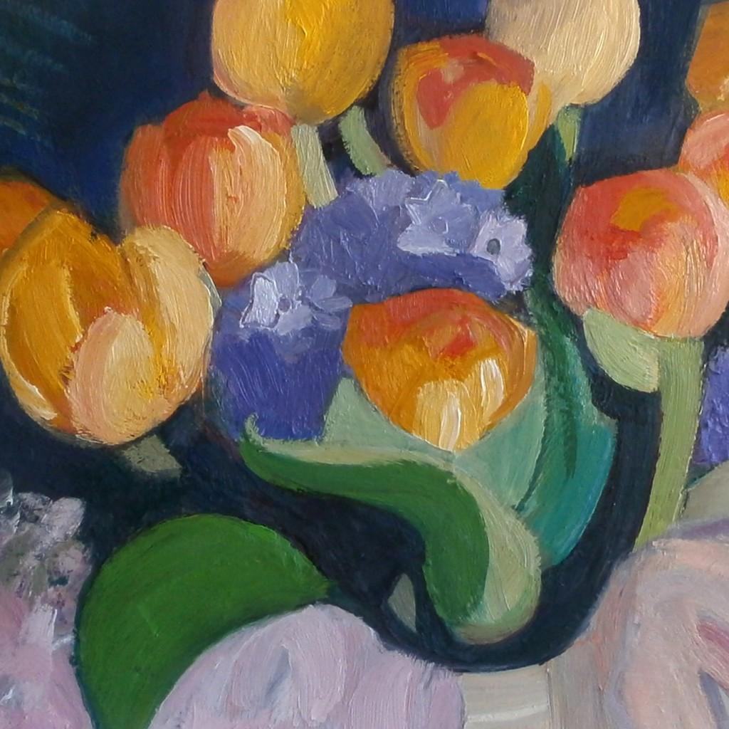 Geneviève Baudoin - Peintures 2016