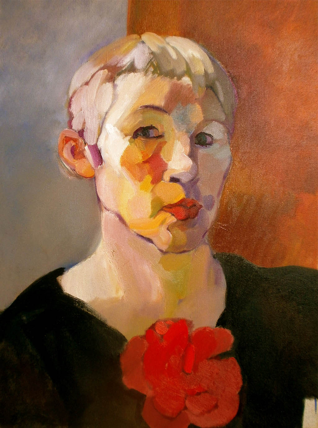 Autoportrait - Huile sur toile 54X73