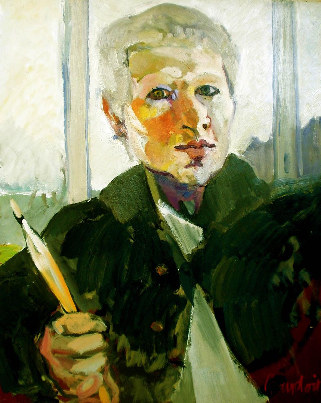 Autoportrait - Huile sur toile 65X81
