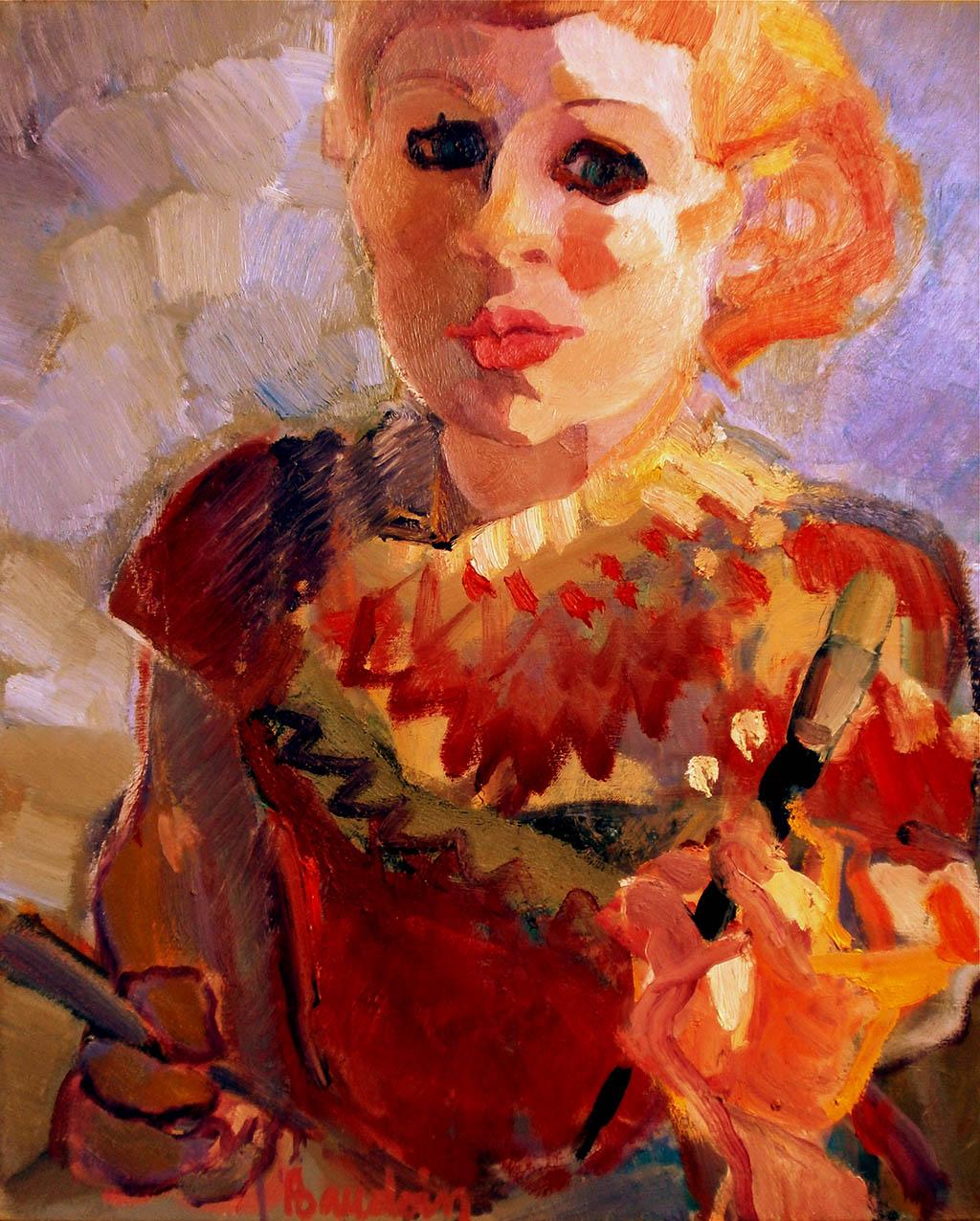 Autoportrait - Huile sur toile 60X73